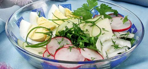 გაზაფხულის ''ჭრელი'' სალათი